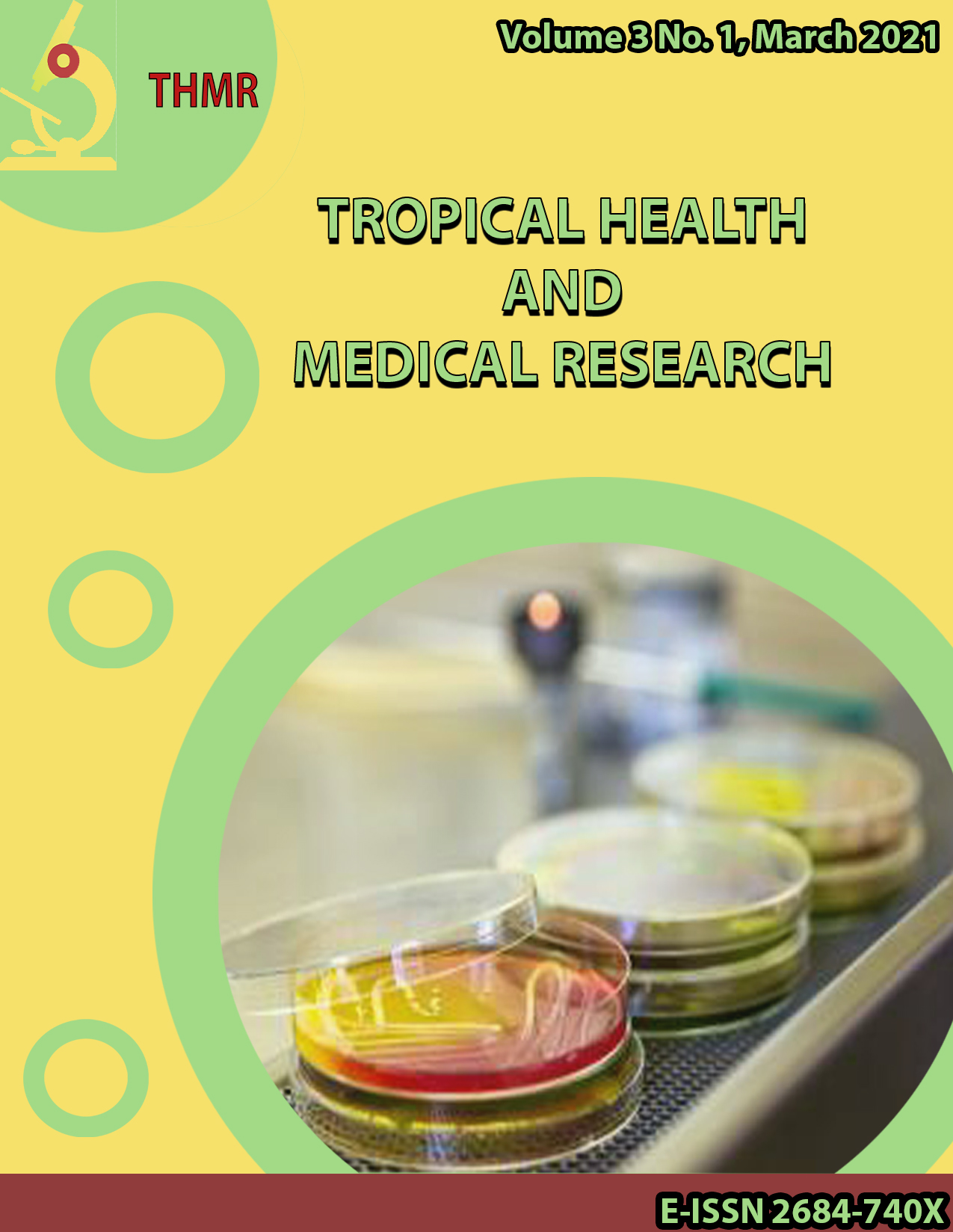 View Vol. 3 No. 1 (2021): Tropical Health and Medical Research