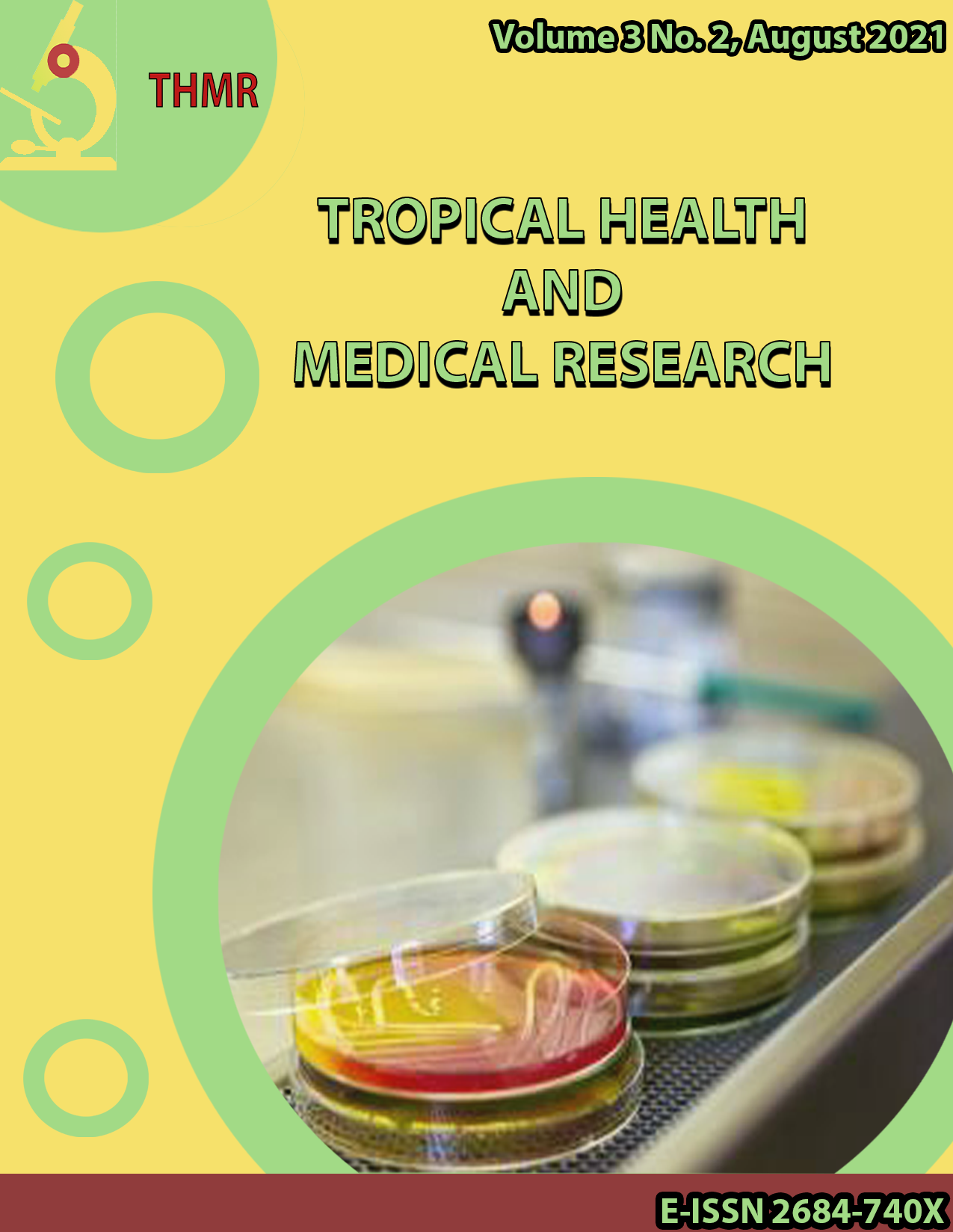 View Vol. 3 No. 2 (2021): Tropical Health and Medical Research